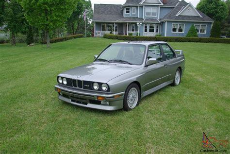 89 1989 Bmw E30 M3 50,548 Original Miles Excellent