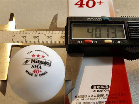 nittaku plastic  table tennis ball review