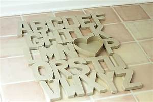 diy wall art paper mache alphabet craft With paper alphabet letters for wall