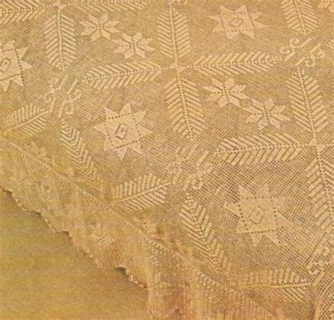 copriletto filet schemi schemi per il filet copriletto con le stelle paperblog