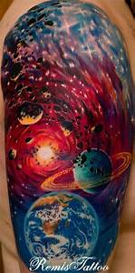 Colorful Galaxy Tattoos (page 4) - Pics about space