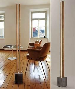 Stehlampe Holz Design : holz und licht 20 unglaubliche designerlampen aus holz ~ Watch28wear.com Haus und Dekorationen