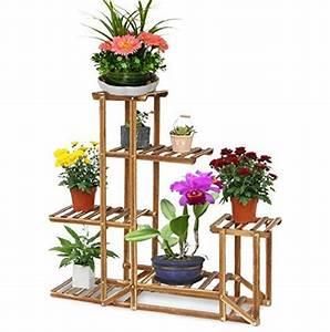 Grünpflanzen Für Innen : malayasblumenregal blumen rack aus massivholz mit mehr pflanzentreppe f r innen balkon wohzimmer ~ Eleganceandgraceweddings.com Haus und Dekorationen