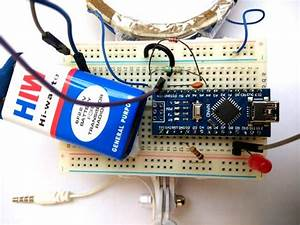Arduino Metal Detector Project With Code And Circuit Diagram