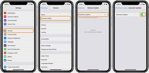turn automatic updates iphone ios 12 how to turn on automatic ios updates on iphone and