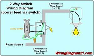 Installing A Light Switch Wiring Diagram