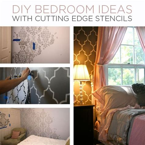 Easy Room Makeover Ideas  Diy Bedroom Ideas With Cutting