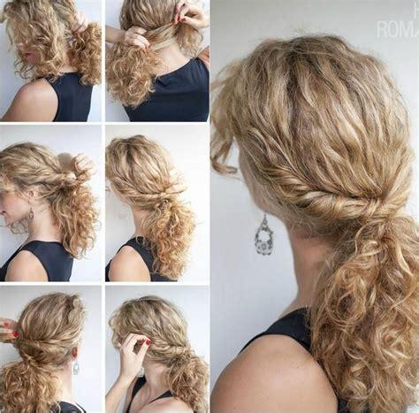 coiffure cheveux boucles naturellement techniques