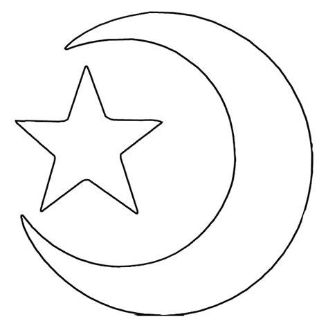 Kleurplaat Het Haasje In De Maan by We4you2 Kleurplaten Islamitische Kleurplaten