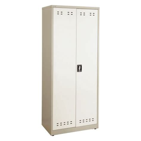 metal storage cabinets at walmart safco products steel storage cabinet with 4 shelves