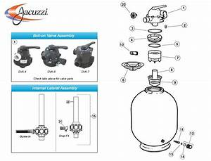 Jacuzzi Laser Sand Filter Parts Models 160l  190l  225l