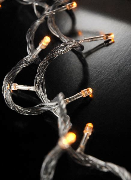 led string lights clear cord 100ct 28ft multi