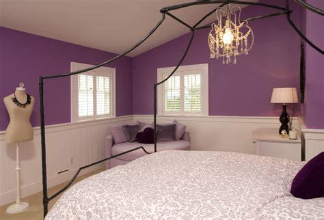 Purple Teen Girl's Bedroom  Traditional  Kids Seattle