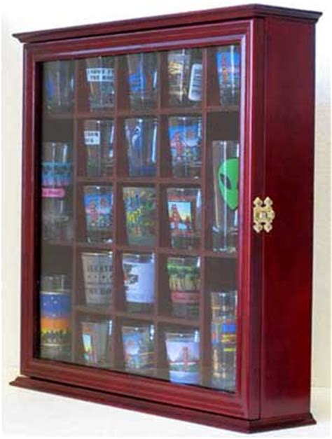 shot glass curio cabinet 21 shot glass display case wall curio cabinet with glass