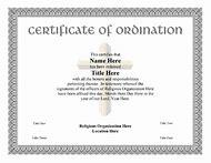 Best Ideas About Ordination Certificate Find What Youll Love - Free ordination certificate template