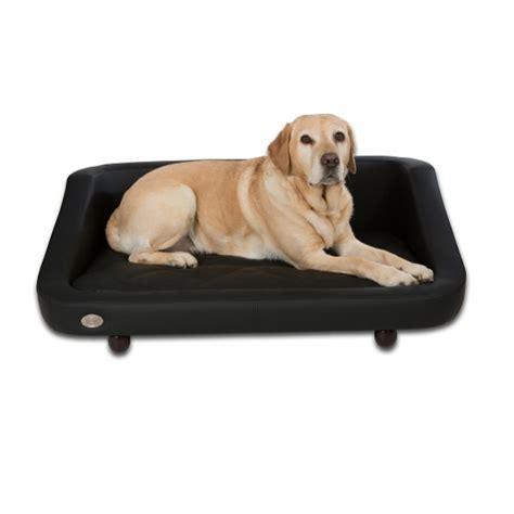 canapé noir moderne pour chien canapé luxe pour chien