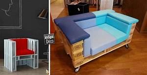 Fauteuil En Palette Facile : fabriquer un fauteuil avec des palettes voici 20 id es ~ Melissatoandfro.com Idées de Décoration
