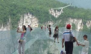 世界最長と最高のガラスボトムブリッジin中国 ( 建築デザイン ) - みっちゃんブログ - Yahoo!ブログ