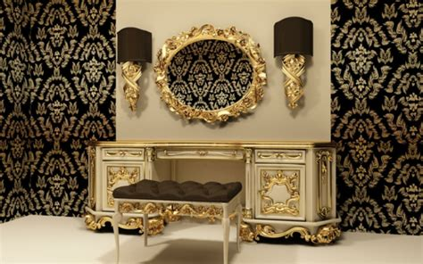 Tapeten Barock Stil by Goldene Tapeten Strahlen W 228 Rme Aus Und Sorgen F 252 R Magische