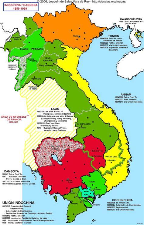 Indo China Map