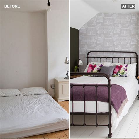 Before And After See How This Attic Bedroom Went From