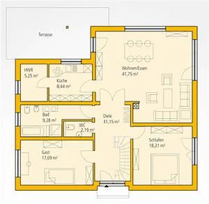 Haus Bauen Gut Und Günstig : bungalow wa 121 ytong bausatzhaus ~ Michelbontemps.com Haus und Dekorationen