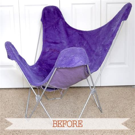 before after butterfly chair i still love you by
