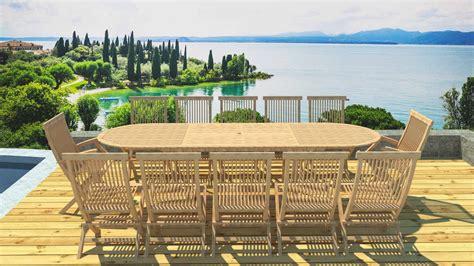 table et chaise de jardin en bois la maison du jardin salon de jardin en bois avec 1