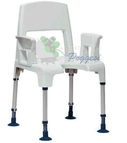 sedia doccia disabili sedia da doccia per disabili acquatec pico ausili per