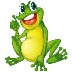 Funny Cartoon Frog Clip Art