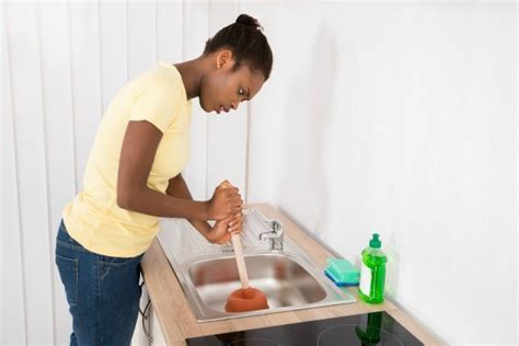 how to stop disposal from backing up into other sink garbage disposal backs up into sink thriftyfun