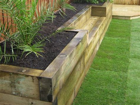 Fencing Made From Decking Boards