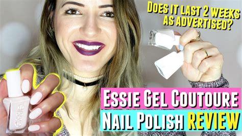 essie no light gel no uv light essie gel couture nail polish review essie