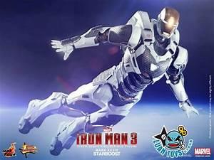 HOT TOYS 發行,『MARVEL IRON MAN 3 鋼鐵人 3 – STARBOOST 雙子星(亞軌道裝甲 ...