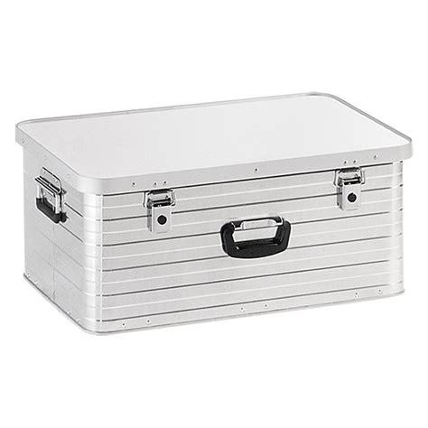 alu vierkantrohr 80 x 80 wisent aluminium box fassungsverm 246 80 l bauhaus