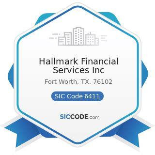 We understand the importance of promoting a safe work environment for your business. Hallmark Financial Services Inc - ZIP 76102