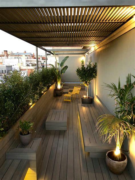 pergola barcelona terrazas interiores techos
