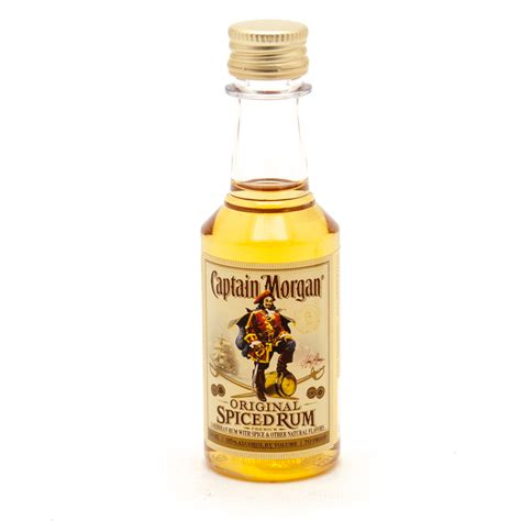 captain morgan spiced rum mini ml beer wine  liquor delivered   door  business