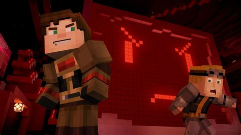 minecraft story mode add  series continues  week