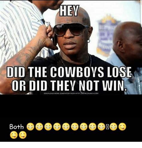 Cowboys Lose Meme - 25 best memes about cowboys losing cowboys losing memes