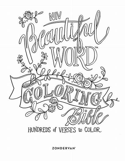 Coloring Word Pages Quotes Printable Christmas Books