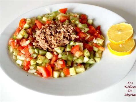 cuisine m馘iterran馥nne recettes les meilleures recettes de salade tunisienne