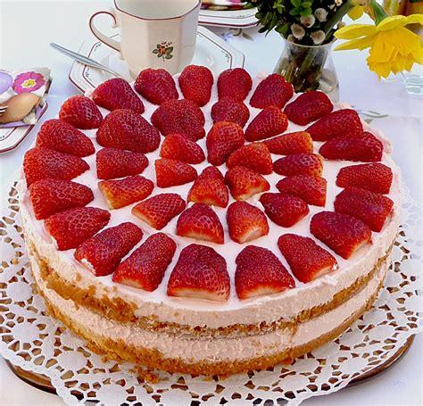 sasis erdbeer sahne torte ein leckeres rezept