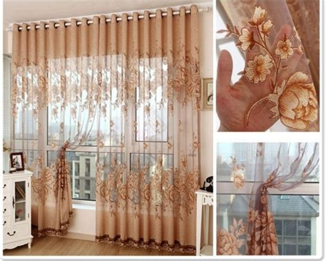 Buy Curtains Sheer Cortinas For Living Room Modern Voile Kitchen Curtain With Pink Grey Curtains Curtain Shower Rail Door Mesh Shabby Chic Rose Modern Contemporary Burlap Panel L Shape Rod Crystal Finials