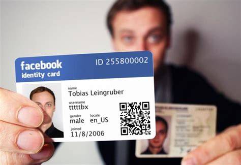 Get Your Own Facebook, Google+ Id Card Zdnet