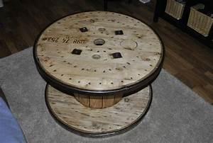 Tisch Aus Kabeltrommel : bild 6 couchtische holz tisch aus kabeltrommel vintage style ~ Orissabook.com Haus und Dekorationen