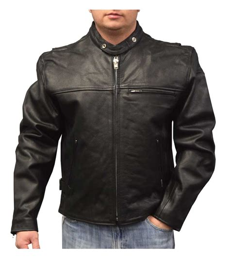 cowhide leather jackets redline s lightweight zip out liner cowhide leather