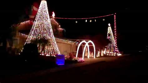 foster s christmas lights amazing grace 2010 youtube