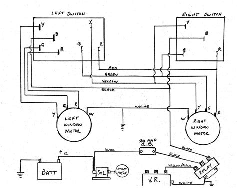 1985 Gm Window Switch Wiring by Avanti Power Window Wiring Diagram