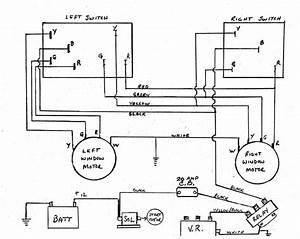 Avanti Power Window Wiring Diagram